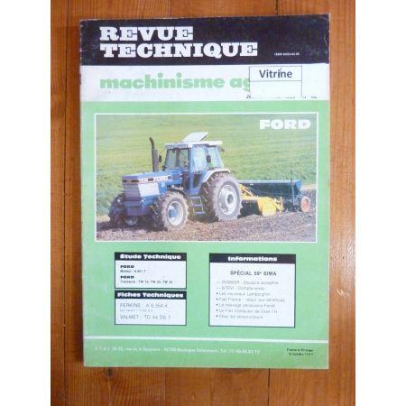 TW 15 25 35 Revue Technique Agricole Ford