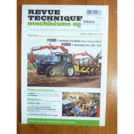7840 8240 8340 Revue Technique Agricole Ford