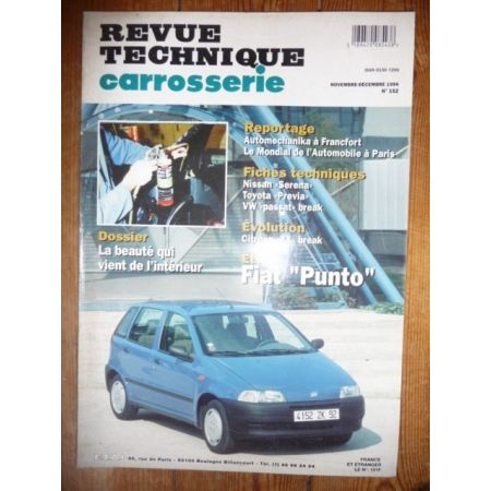 Punto Revue Technique Carrosserie Fiat