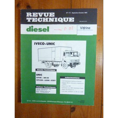 159 NC NR20 U20 Revue Technique PL Iveco