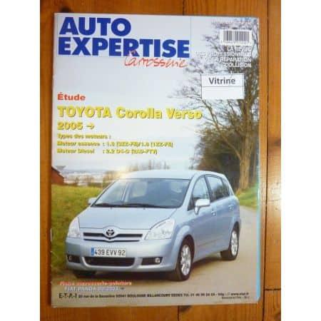 Corolla Verso 05- Revue Auto Expertise TOYOTA