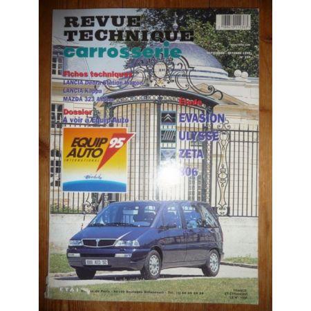 Evasion Ulysse Zeta 806 Revue Technique Carrosserie Citroen Fiat Lancia Peugeot