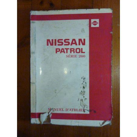 Patrol 260 Manuel Atelier NISSAN