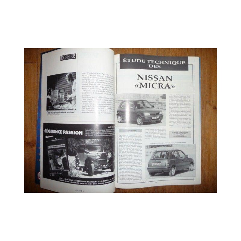 rtc revue technique carrosserie nissan micra. Black Bedroom Furniture Sets. Home Design Ideas