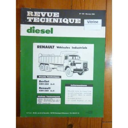 GBH 280 6x4 Revue Technique PL Berliet Renault