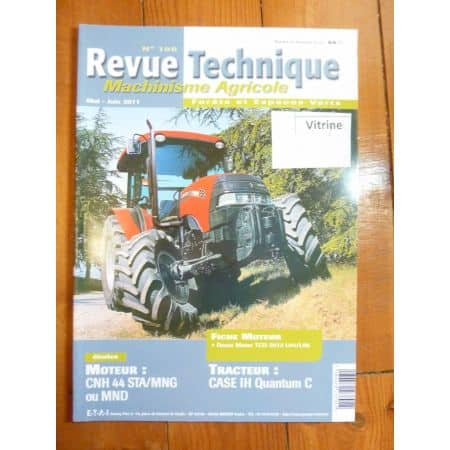 Quantum 65c 75c 85c 95c Revue Technique Agricole IH CASE