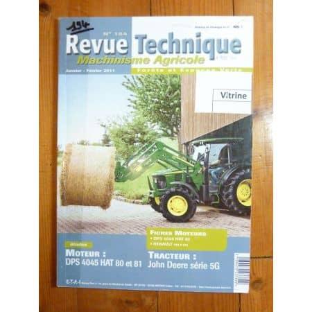 Série 5G Revue Technique Agricole John Deere