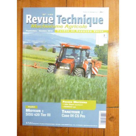 CS PRO Revue Technique Agricole IH CASE