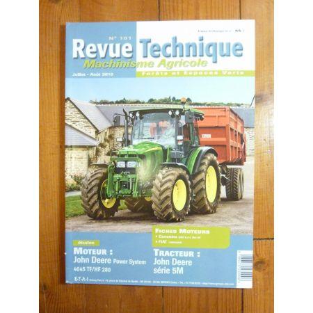 Série 5M Revue Technique Agricole John Deere