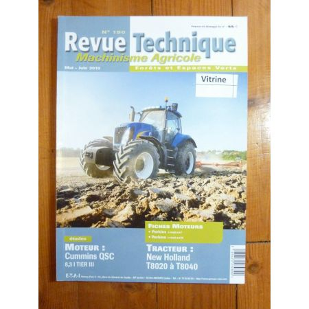 T8020 T8040 Revue Technique Agricole New Holland
