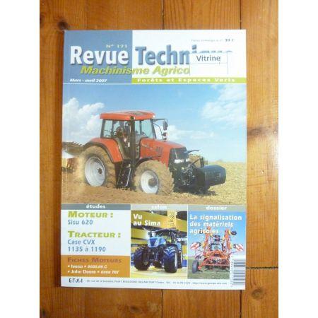 CVX 1135 à 1190 Revue Technique Agricole Case Axial