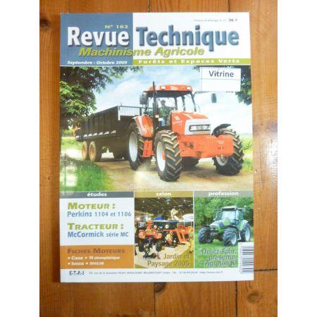 Série MC95 105 115 120 135 Revue Technique Agricole Mc Cormick Perkins