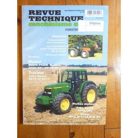 6810 6910 Revue Technique Agricole John Deere