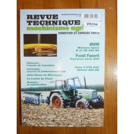 Favorit 600 Revue Technique Agricole Fendt