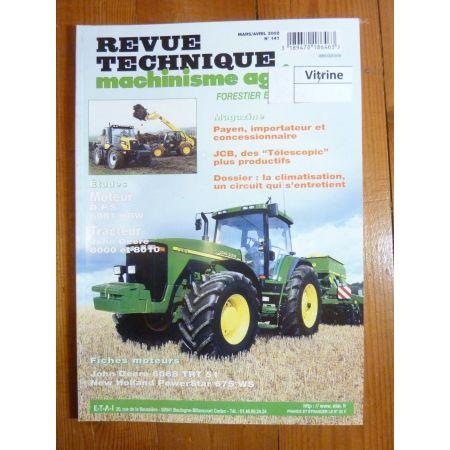 8000 8010 Revue Technique Agricole John Deere