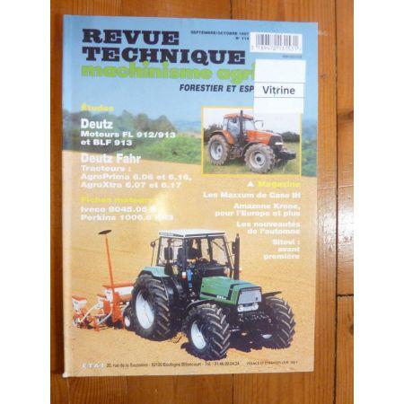 AgroPrima AgroXtra Revue Technique Agricole Deutz Fahr