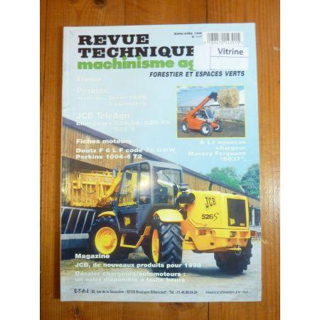 Chargeurs 530 Revue Technique TP JCB