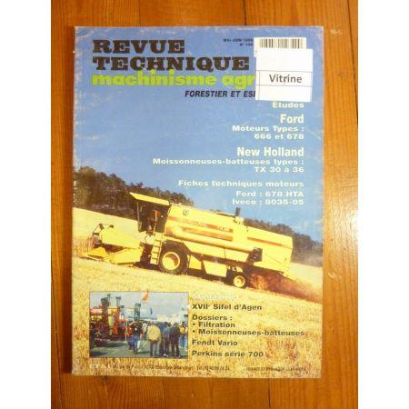 TX 30 32 34 36 Revue Technique Agricole Ford