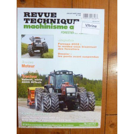 6000 HiTech Revue Technique Agricole Valmet