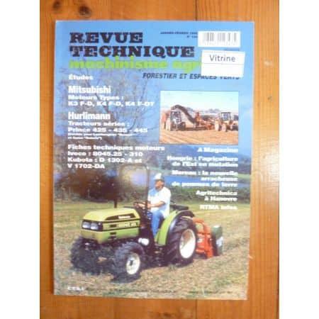 Prince 425 435 445 Revue Technique Agricole Hurlimann