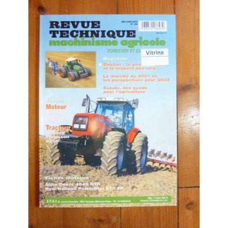 8210 8220 8240 8250 8260 8270 8280 Revue Technique Agricole Massey Ferguson