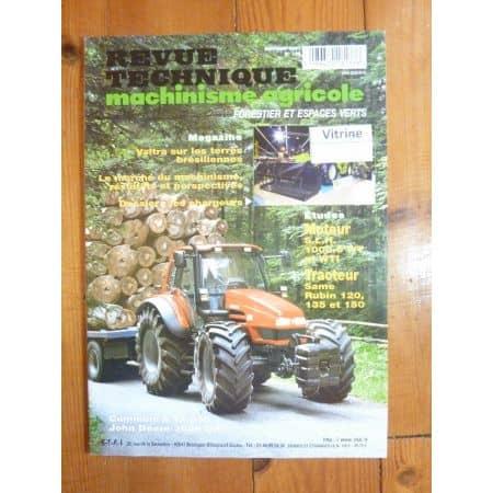 Rubin 120 135 150 Revue Technique Agricole Same