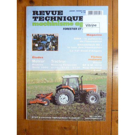 8110 8120 8130 Revue Technique Agricole Massey Ferguson