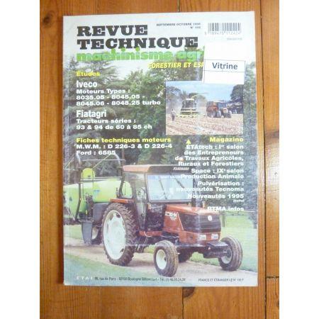 Séries 93 94 Revue Technique Agricole Fiat Someca