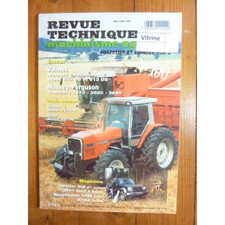 3670 3680 3690 Revue Technique Agricole Massey Ferguson