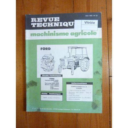 2600 3600 3900 Revue Technique Agricole Ford Manitou