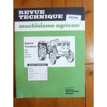 3006 a 6006 Revue Technique Agricole Deutz