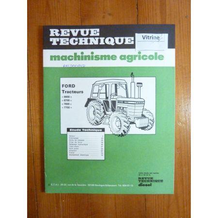 6600 6700 7600 7700 Revue Technique Agricole Ford