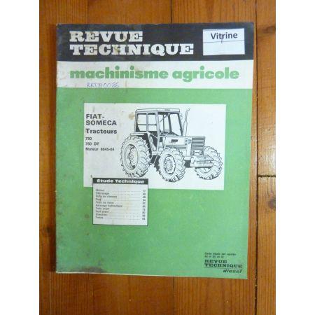 780 DT Revue Technique Fiat-Someca