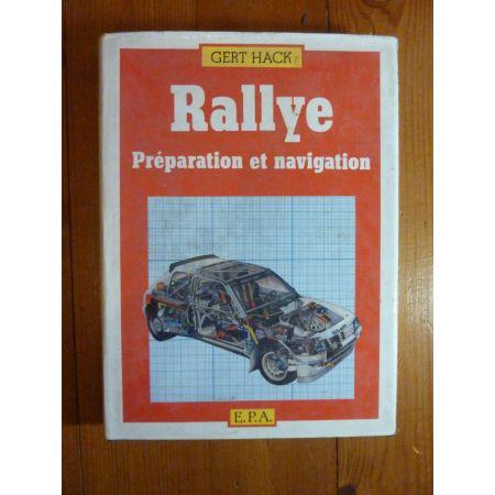 Préparation Rallye Livre