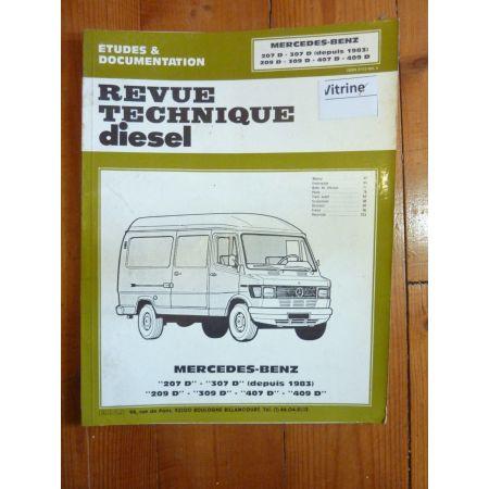 207D 307D 209D 309D 407D 409D Revue Technique Mercedes