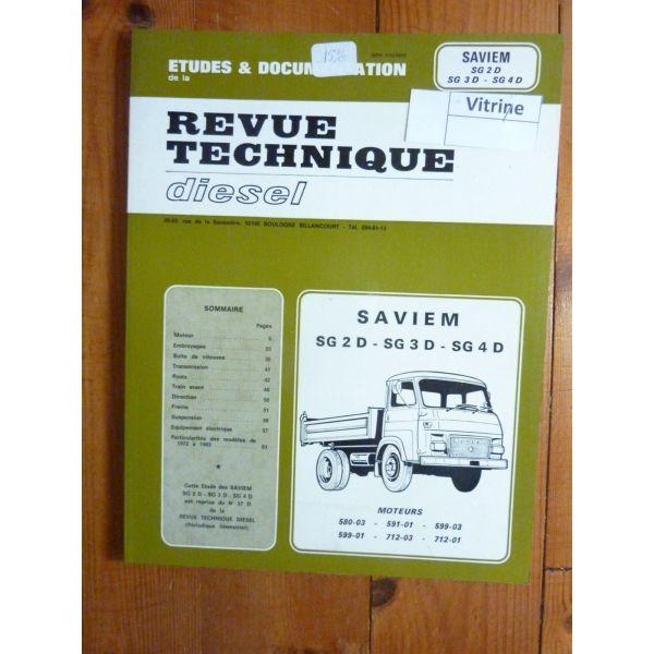SG2D SG3D SG4D Revue Technique Saviem Man Renault