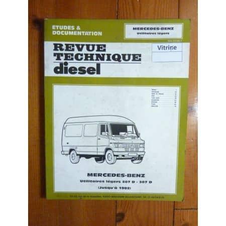 207D 307D -82 Revue Technique Mercedes