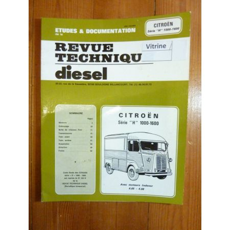 H 1000 1600 Revue Technique Citroen Indenor