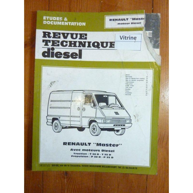 renault master diesel t30d t35d p30d p35d traction avant et propulsion rrtd0113 1d r dition. Black Bedroom Furniture Sets. Home Design Ideas