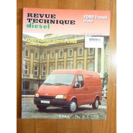 Transit Die 86-88 Revue Technique Ford