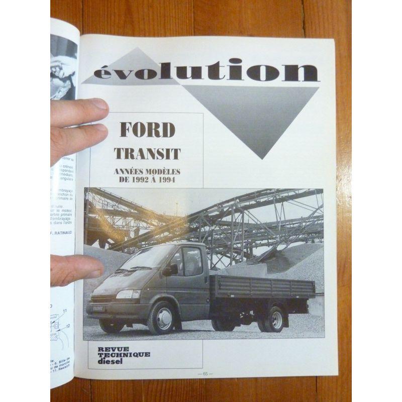 ford transit diesel depuis 1986 utilitaires a0407 rrtd0148 2bd r dition. Black Bedroom Furniture Sets. Home Design Ideas