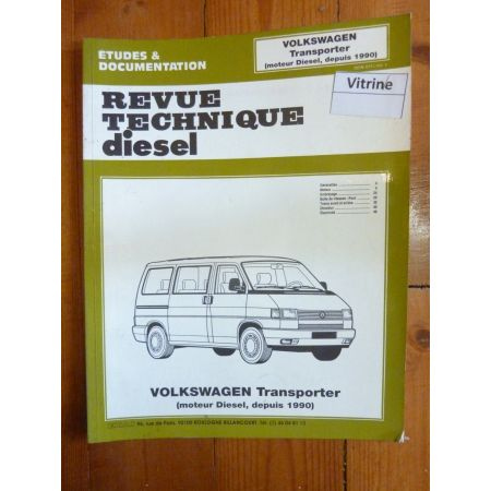 Transporter 91- Revue Technique Volkswagen