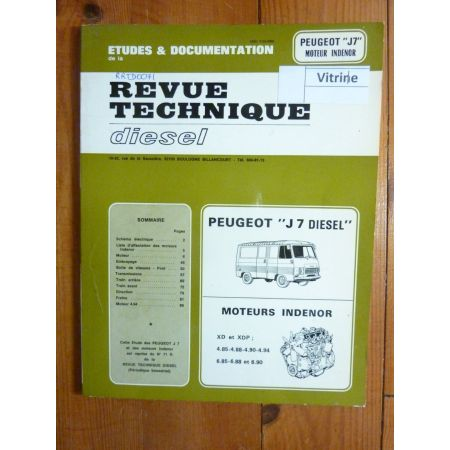 J7 Die Revue Technique Peugeot Indenor
