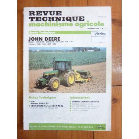 2250 2450 2650 2850 Revue Technique Agricole John Deere
