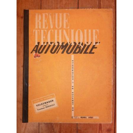 Coccinelle Tracteur Revue Technique Agricole Renault Volkswagen