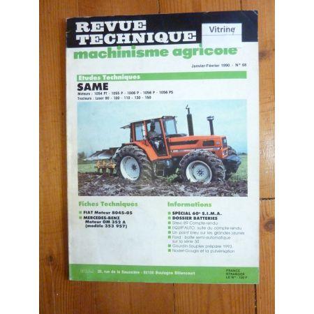 Laser 90 a 150 Revue Technique Agricole Same