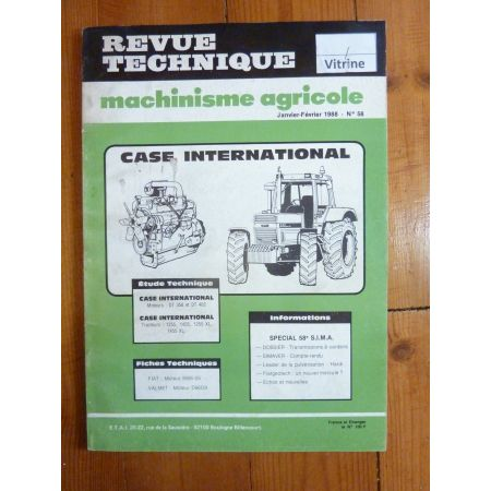 1255 1455 1255XL 1455XL Revue Technique Agricole Case Axial