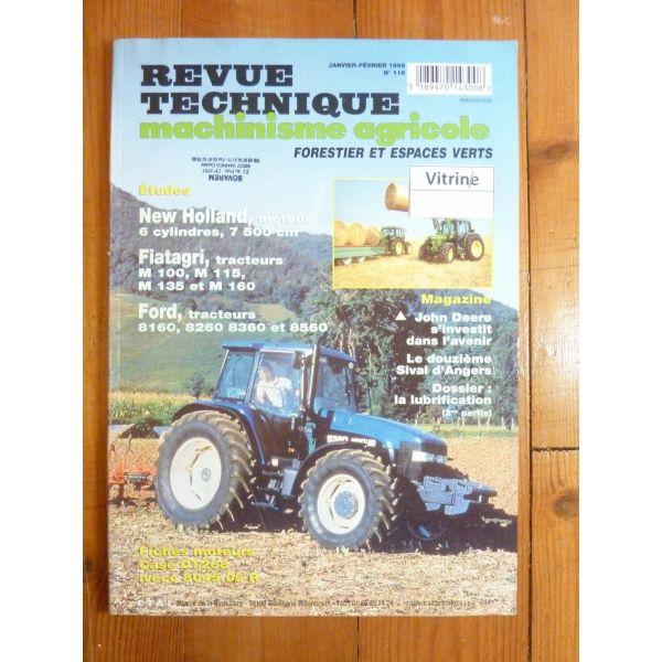 2 Et 4 Roues Dt Équipements Professionnels Revue Technique Tracteur Fiat Someca 780 Moteur 8045-04 Agriculture