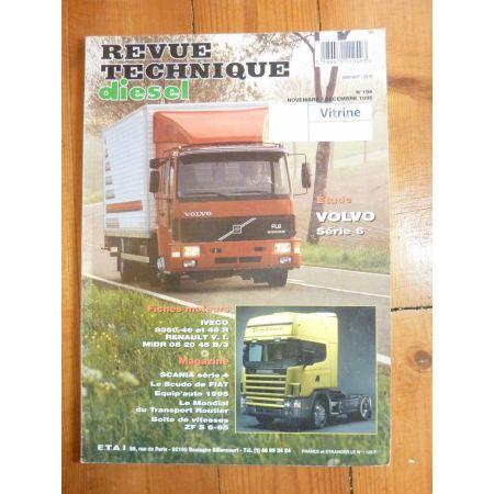 Série 6 FL 607 610 612 613 614 619 Revue Technique PL Volvo