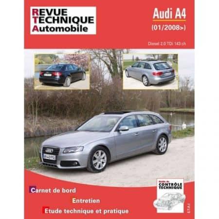 A4 08- Revue Technique Audi